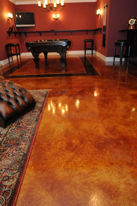 Concrete Staining St Louis MO Acid Stain  Stained Concrete
