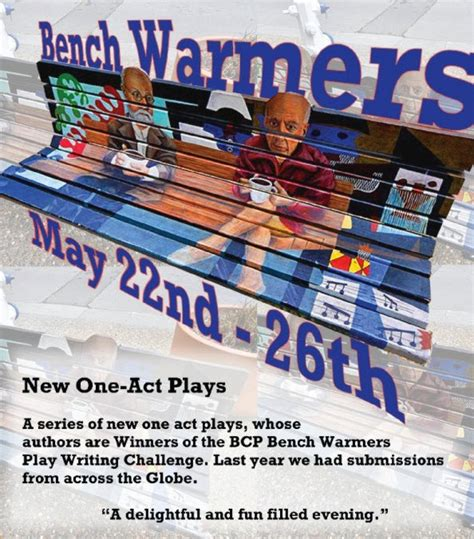 bench warmers boquete community players bcp presents bench warmers