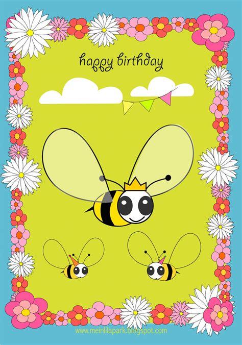 printable birthday card child free printable happy birthday card for kids ausdruckbare
