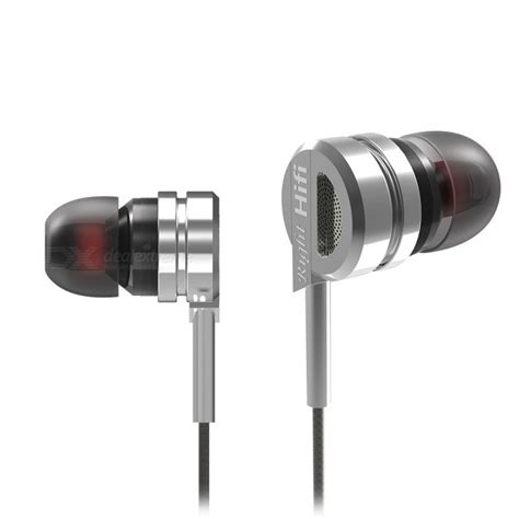 Langsdom Metal Dynamic Stereo Bass Earphone W Microphone M300 eastor dm9 hifi stereo bass metal in ear wired earphone w mic silver free shipping dealextreme