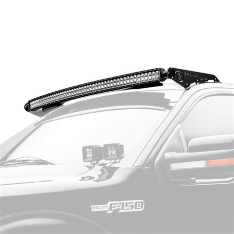 Zroadz 174 Z335721 Kit C Roof Mounted 52 Quot 300w Curved Dual Led Roof Light Bar
