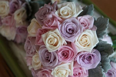 Mauve Wedding Bouquets   Red Earth Flowers