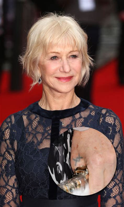 helen mirren tattoo meanings design inspiration and