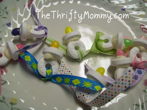 Cute Baby Shower Favors Diy by Entertaining The Thrifty Mommy