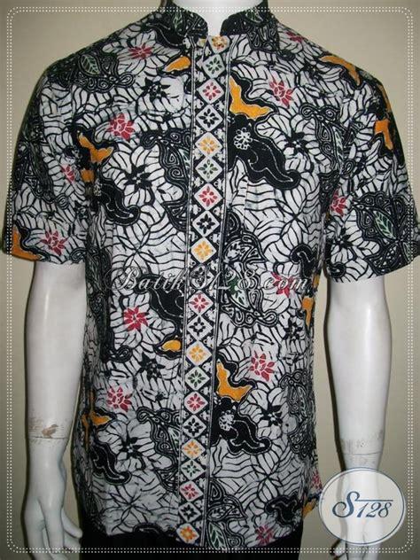 Koko Batic Pendek batik koko pria lengan pendek terbaru terpercaya