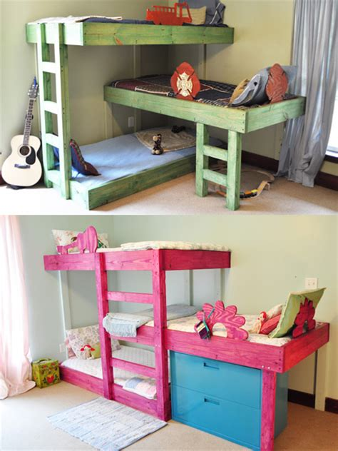 Small Room Bunk Beds Home Dzine Bedrooms Room For Beds In Small Spaces