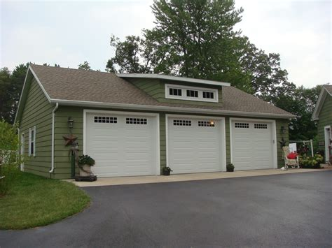House With 3 Car Garage by 3 Car Garage W Loft Brian Gorges Construction Llc
