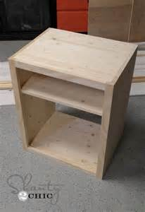 how to make a nightstand taller woodworking projects plans