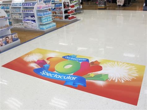 vinyl printing vancouver floor decal advertising vancouver oh my print solutions