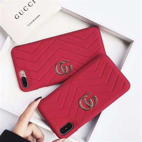 fundas gucci iphone 7 plus gucci case for iphone 8 7 6 plus red designer iphone x