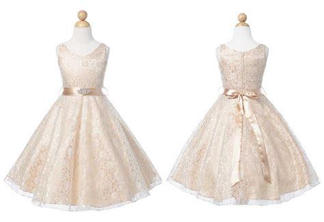 Baby Lovely Lace Dress chagne lovely lace v neck flower dress cdress flower dress flower dresses