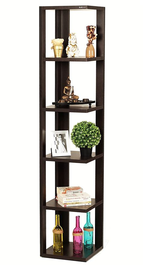 Where Can I Buy The On A Shelf by Bluewud Albert Floor Standing Corner Wall Shelf Display