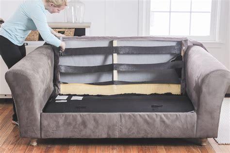 Fix Sagging Sofa how to fix a sagging restore cushions comfort works