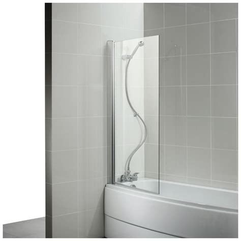 Curved Bath Shower Screen by Product Details L9142 Curved Bath Screen Ideal Standard