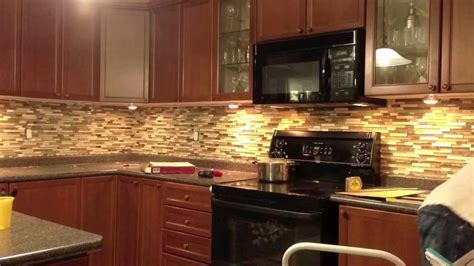 Brick Tile Kitchen Backsplash by Backsplash In A Flash Youtube