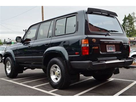 Toyota Land Cruiser 1995 1995 Toyota Land Cruiser Information And Photos Momentcar
