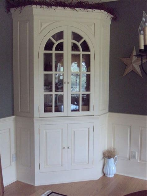 Corner Hutch For Dining Room by Crafted Corner Hutch By Wood Connections Llc Custom