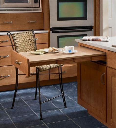 pull out table house kitchen cabinets storage