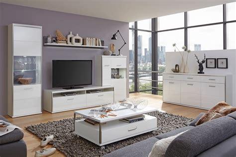 bilder wohnzimmer lowboard mit highboard travis 15 wei 223 hochglanz tv m 246 bel