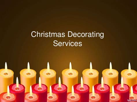 christmas decorating services