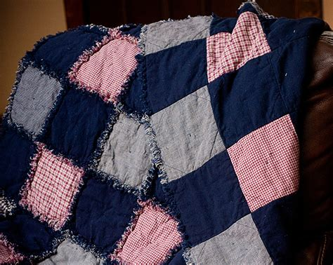 free pattern rag quilt fuss free rag quilt favequilts com