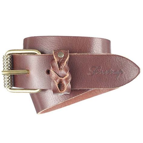 firetrap womens couper leather belt brown available