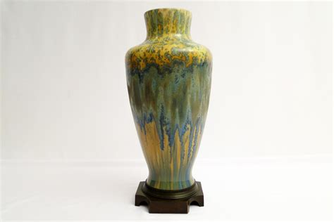 Artistic Vases by Pirrefonds Nouveau Ceramic Vase Dorian Frank
