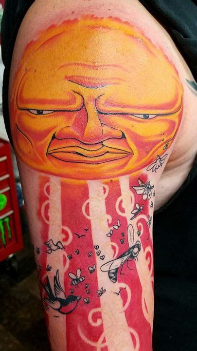turning tribal tattoo into sleeve sublime album cover turned into sleeve progress so far