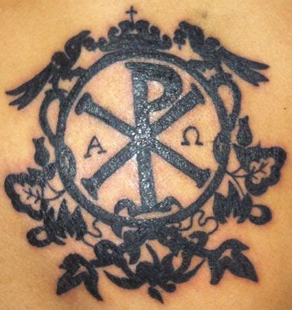 christian tattoo chi rho pinterest the world s catalog of ideas