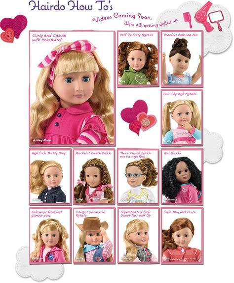 cute hairstyles for our generation dolls cute hairstyles for our generation dolls doll hairstyle