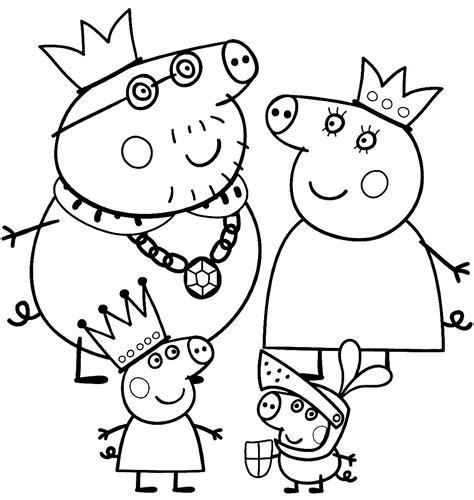 imagenes de ninas para dibujar fantasticos dibujos para colorear de pepa pig para ni 241 as