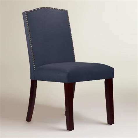 world upholstered dining chairs velvet abbie upholstered dining chair world market
