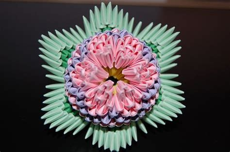 3d Origami Lotus Flower - 10 best images about origami on green peacock