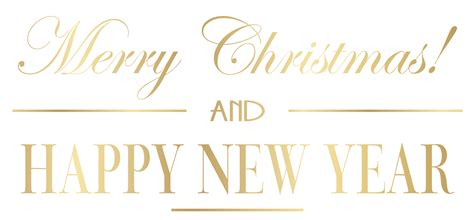 merry christmas  happy  year png clip art image gallery yopriceville high quality