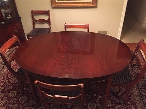 drexel travis court dining table vintage drexel heritage mahogany dining room table and