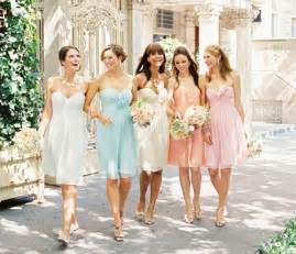 pastel color bridesmaid dresses dress to trendy pastel colored bridesmaid dresses