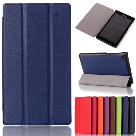 Flip Tablet Lenovo A7 30 Flipcover Leather sale for lenovo tab 2 a7 30 2015 tablet pc protective leather stand flip cover for lenovo