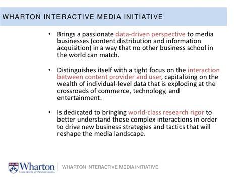 Wharton Mba Distribution by Why Analytics Now Elea Mcdonnel Feit Wharton