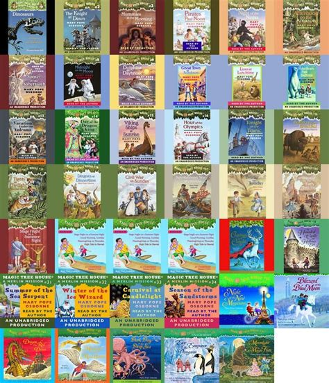 pin by christian on books worth reading - Magic Treehouse Series In Order