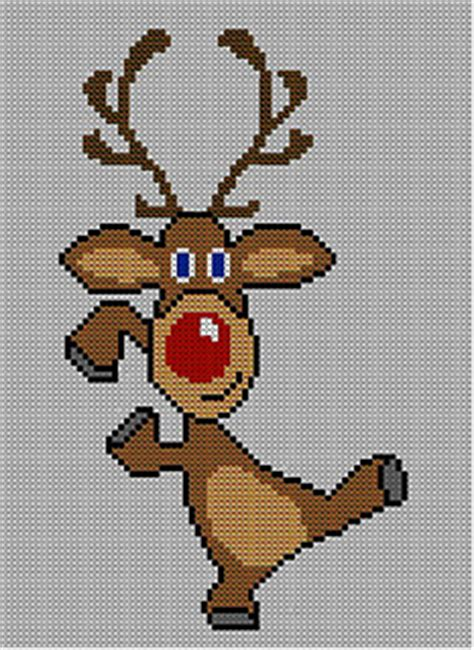 knitting pattern christmas jumper reindeer ravelry christmas rudolph reindeer jumper sweater