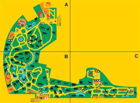 barcelona zoo map mapa zoo barcelona my blog