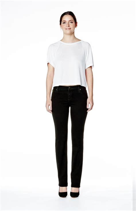 salee 1124 black high rise jean in overdye black second clothing