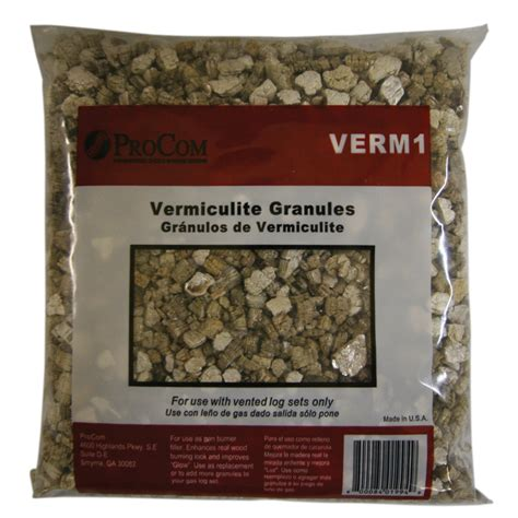 shop procom vermiculite for vented gas logs at lowes