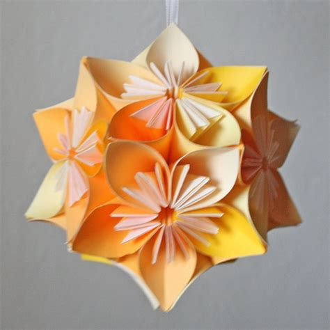 Easy Origami Kusudama Flower - kusudama kusudama origami
