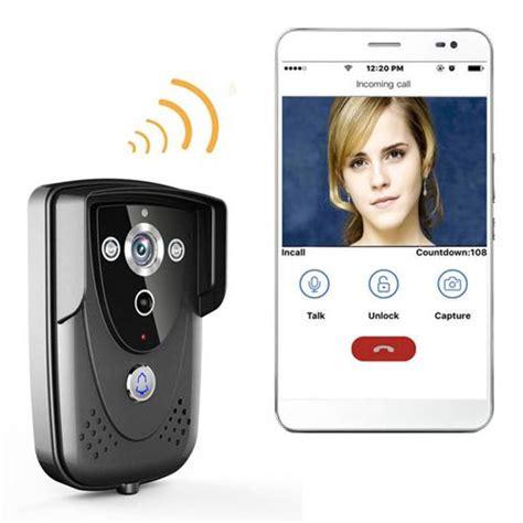 Wifi Doorbell ennio wi fi wireless door phone doorbell intercom