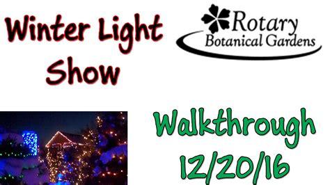 Lu Rotator Polisi rotary botanical gardens light show garden ftempo