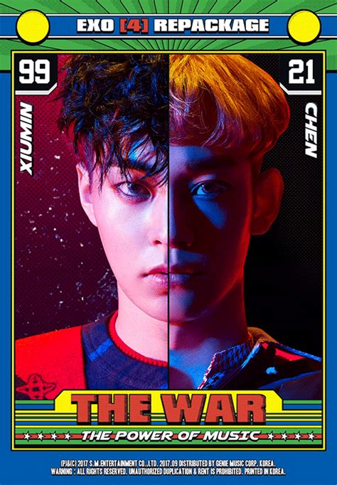 exo album power update exo drops individual teasers for d o and suho