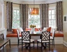 Dining Room Drapery Ideas 30 Bay Window Decorating Ideas Blending Functionality With