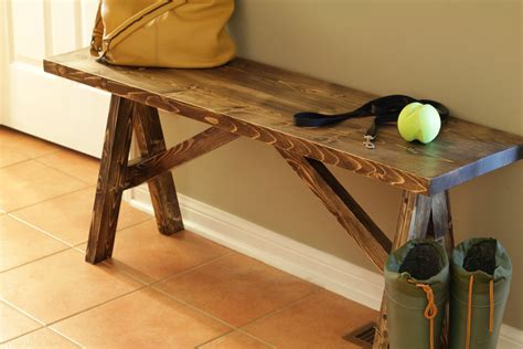 how to build your own bench turtles and tails build your own entryway bench and shelf