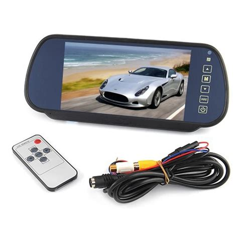 Lcd Car Monitor 7 inch 16 9 tft lcd car rearview monitor mirror 480x 234 screen resolution car automobile rear